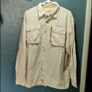3💰$25. Natural Gear L/S Vented Shirt. Size L